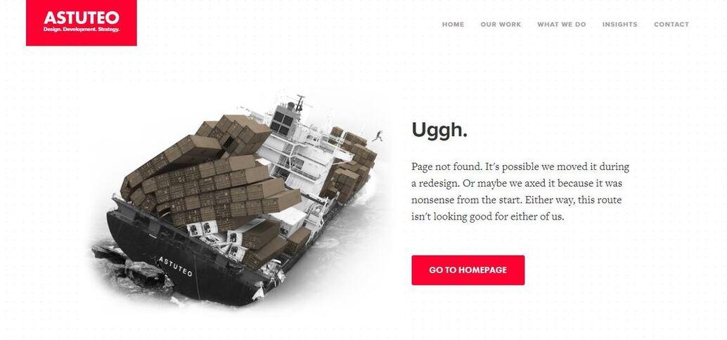 Astuteo_404 page not found
