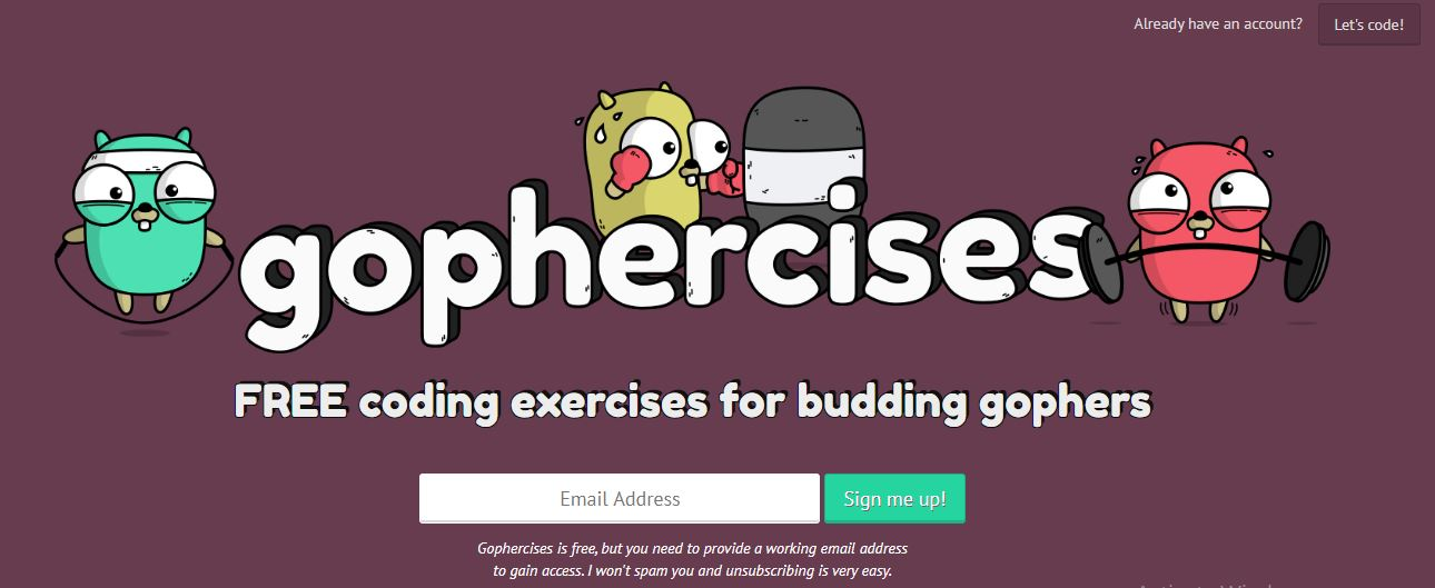 gophercises - learn go
