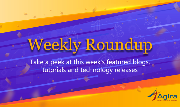 Agira's weekly Archives | Agira Technologies