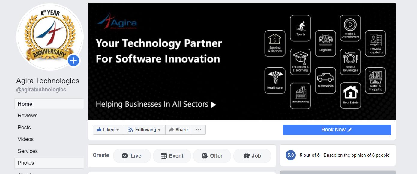 facebook agira