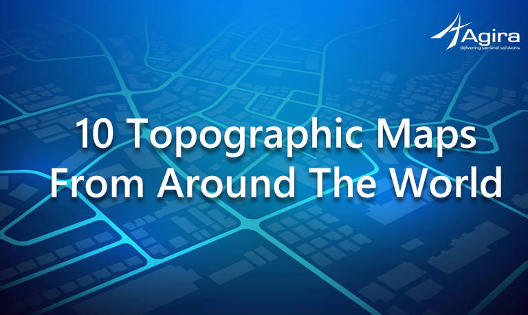 Topographic Maps From Around the World