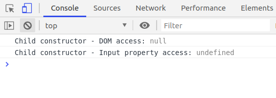 ngOnInit and Constructor