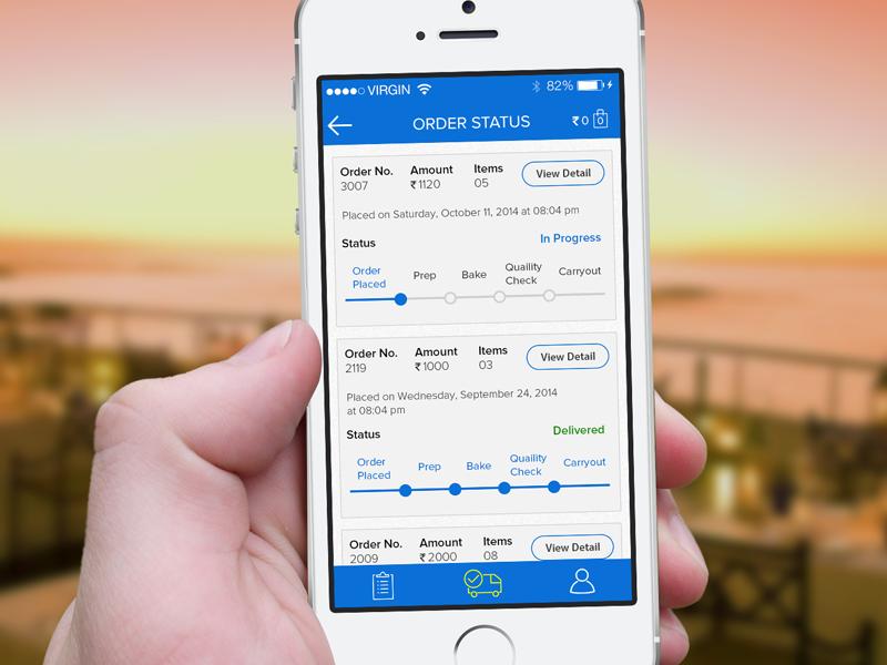 mobile app for logistics